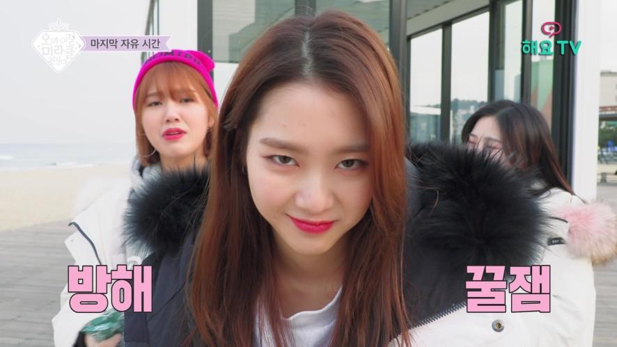 EP. 9-3 OH MY GIRL - 오마이걸 미라클원정대 : 옴걸이들의 해변 자유 시간& 셀카삼매경