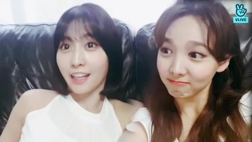 [TWICE] 왓 이즈 럽? 🍑럽 이즈 복숭아즈🍑(Nayeon&Momo giving spoilers)