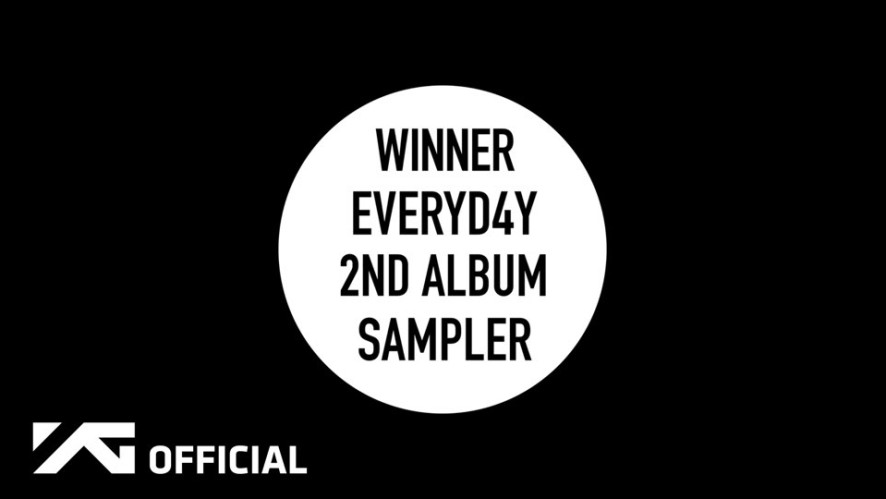WINNER - THE 2ND ALBUM 'EVERYDAY' SAMPLER
