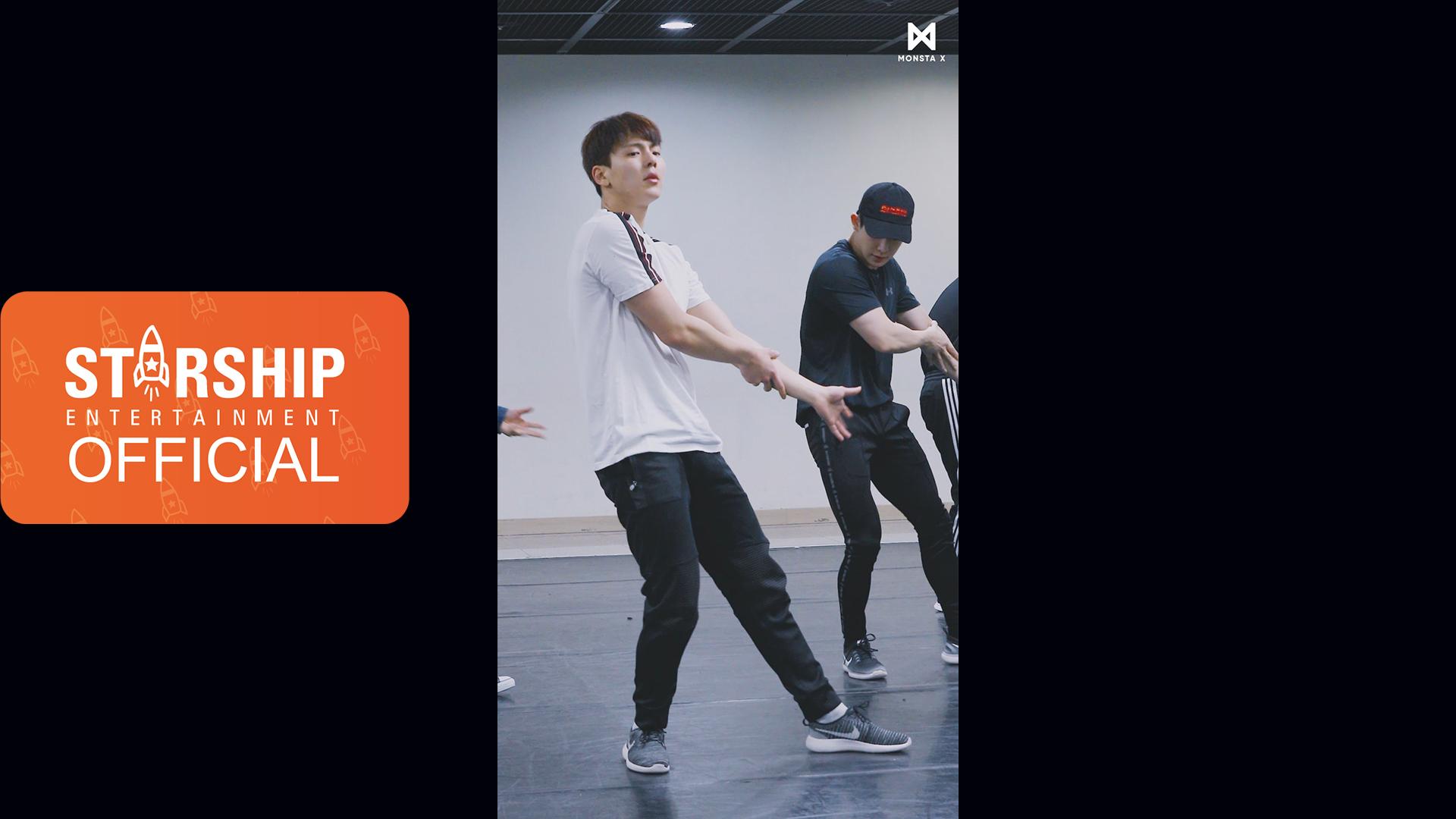 [SHOWNU][Dance Practice] 몬스타엑스 (MONSTA X) - 'JEALOUSY' Vertical Video