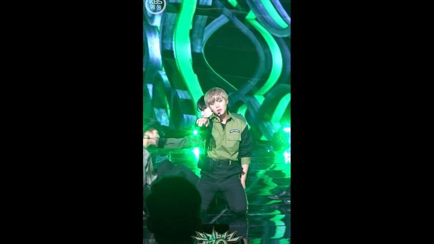 [뮤직뱅크 직캠 180406] 워너원_박지훈 / 부메랑 [WANNA ONE_PARK JI HOON / BOOMERANG / Music Bank / Fan Cam ver.]
