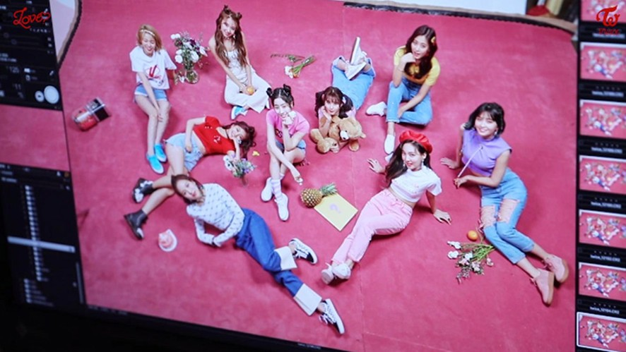 """TWICE(트와이스) """"What is Love?"""" JACKET BEHIND A"""