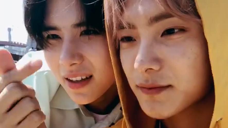 [A.C.E] 와우와 준이의 따수운 막둥동글이 사랑💕(JUN&WOW's love for CHAN)
