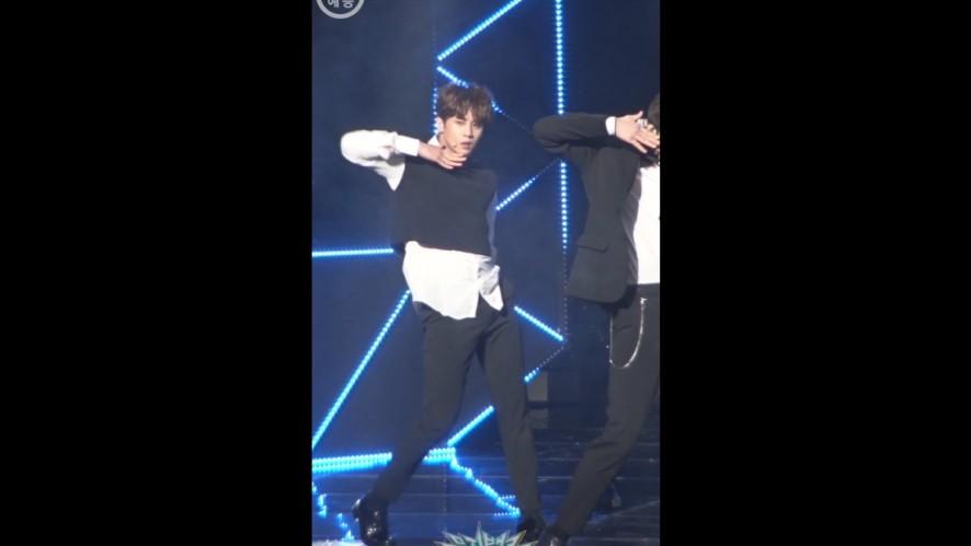 [뮤직뱅크 직캠 180413] UNB_고호정 / 감각 [UNB_KO HO JUNG / FEELING / Music Bank / Fan Cam ver.]