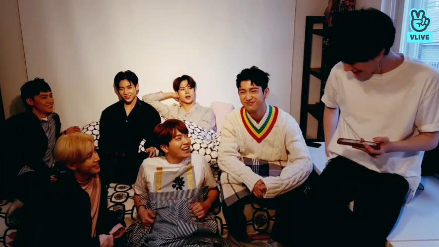 [GOT7] JB 애교로 시작된 갓세븐의 돌려돌려 애교판💚(GOT7's aegyo party)