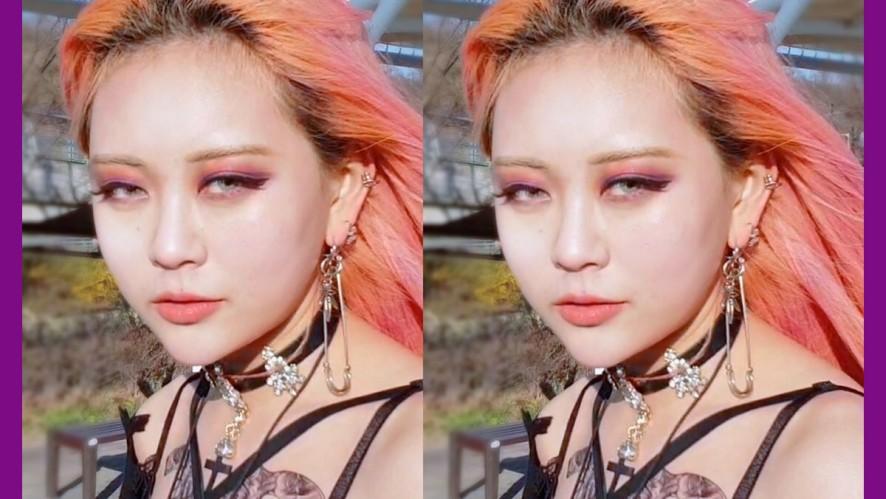 EUNBI✟Deep Purple Makeup 오묘한 딥퍼플 메이크업