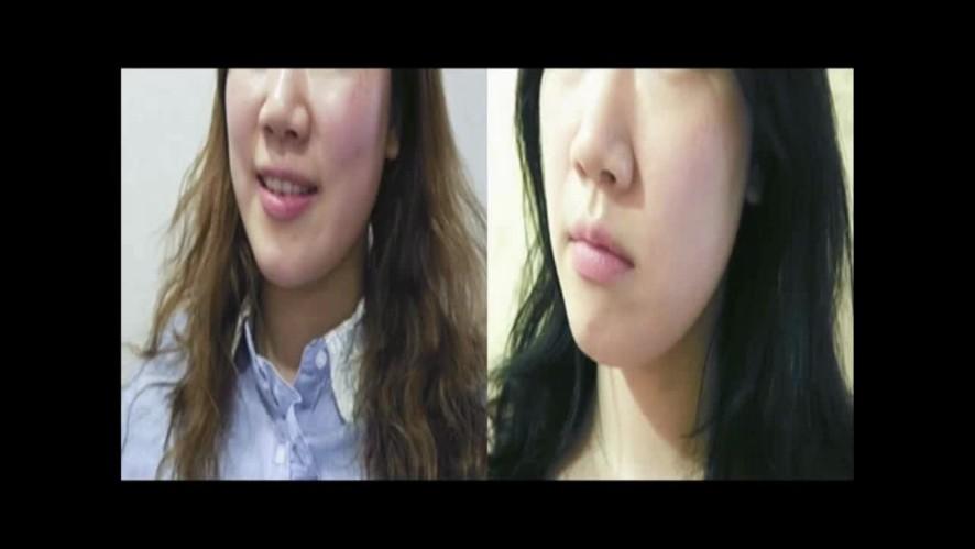 [1분팁] 얼굴작아지는법 10분만 투자해봥 Ways to make face smaller: Spend just 10 minutes!