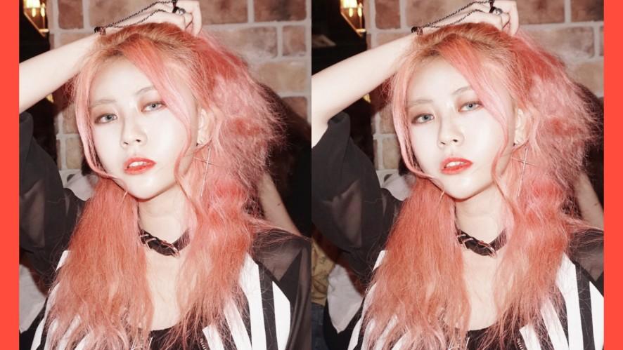 EUNBI✟Half ponytail hairstyle 반묶음 웨이브 헤어스타일링 하는법