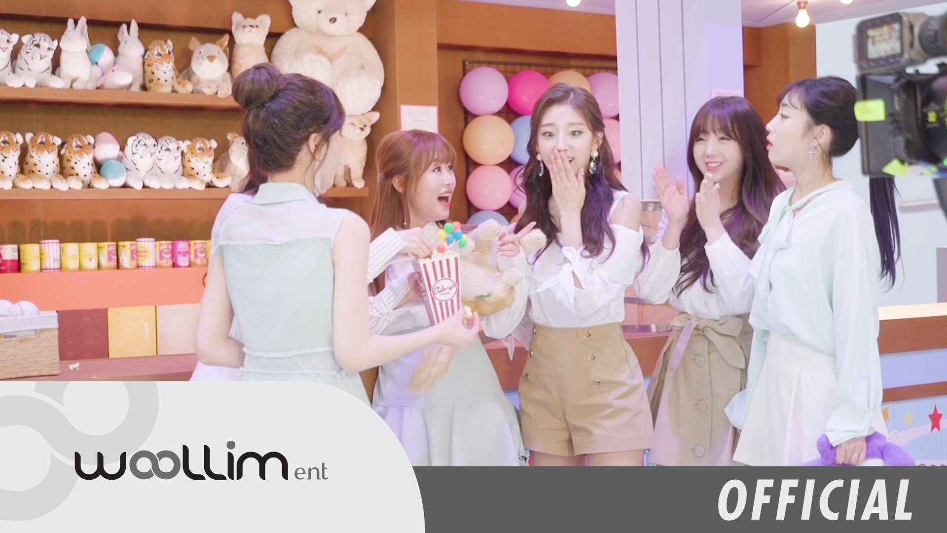 """러블리즈(Lovelyz) """"그날의 너"""" MV Making Video"""
