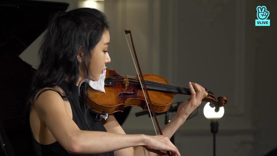 [V살롱]신지아, 바흐 : 바이올린 파르티타 3번 마장조  J.S.Bach : Violin Partita No.3 in E major, BWV 1006