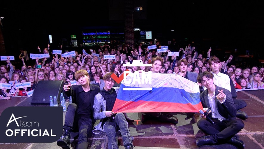 VCAM(브이캠) EP.33_VAV 2018 MEET&GREET IN EUROPE #RUSSIA