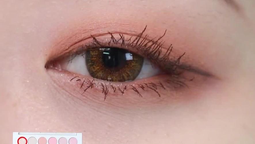 [1분팁] 속성으로 끝내는 섀도우 팔레트 스프링 에디션 4가지 꿀조합🍯 4 types of eyeshadow color combos