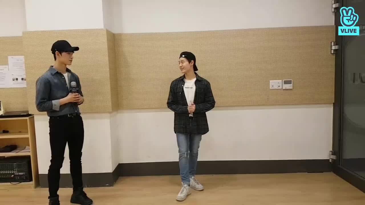 스파클링 피스 - 릴레이 V앱 #8 (환웅,이도)