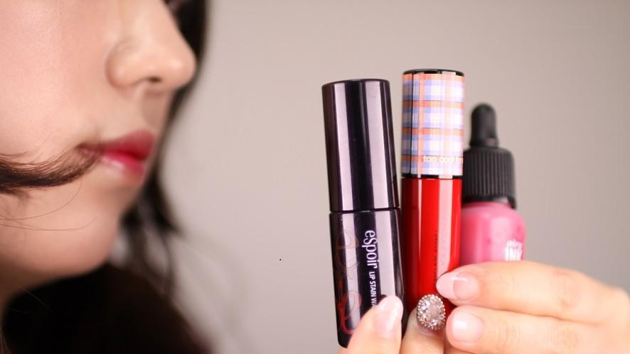 [1분팁]로드샵 틴트 추천 쿨톤편 Lip tint recommendations from road shops