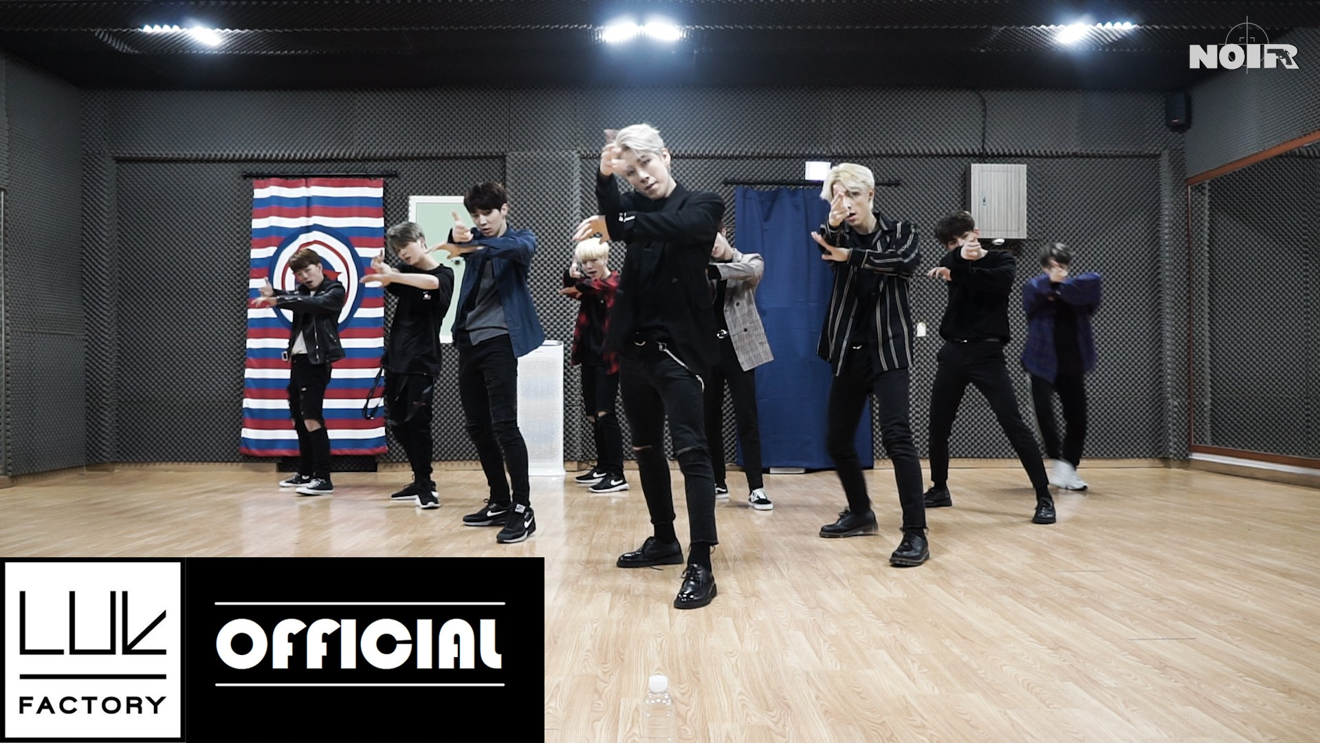 "NOIR(느와르) ""GANGSTA"" Dance Practice"