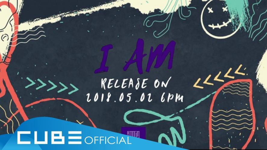 """(여자)아이들 - 1st mini album """"I am"""" Audio snippet"""