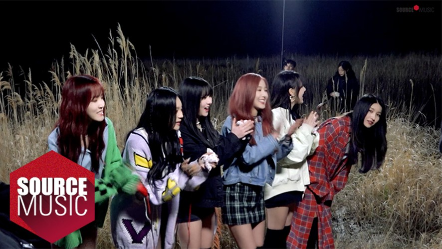 [Special Clips] 여자친구 GFRIEND -  밤 (Time For The Moon Night) M/V Shooting Behind