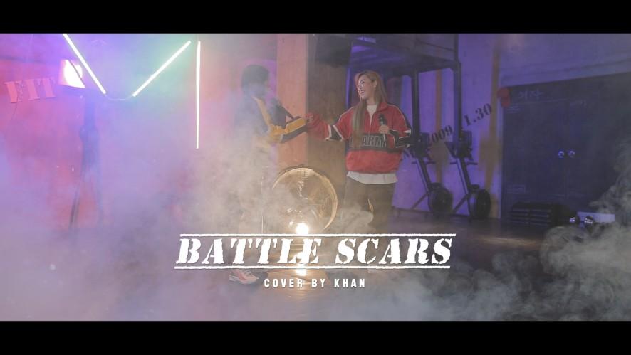 KHAN #6. Battle Scars Cover