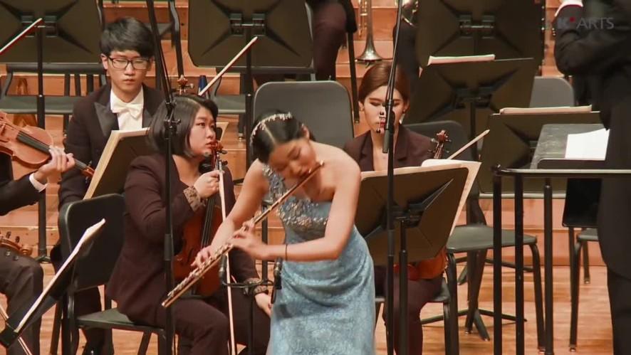 플루티스트 한여진 Carl Nielsen Flute Concerto : Niccolo Paganini Carprice No.24, KNUA Symphony Orchestra