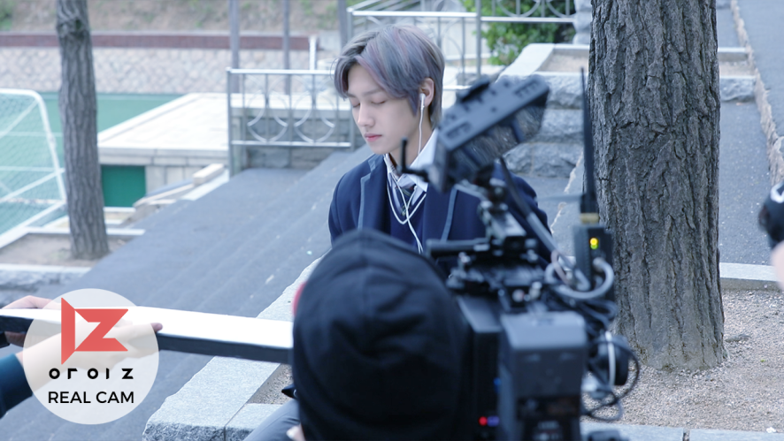 [REAL IZ]새살 MV 촬영 현장 비하인드
