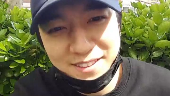 [DAY6] 자연광 아래 내츄럴한 방방(feat.강이상한사람) (Sungjin's V at the playground)