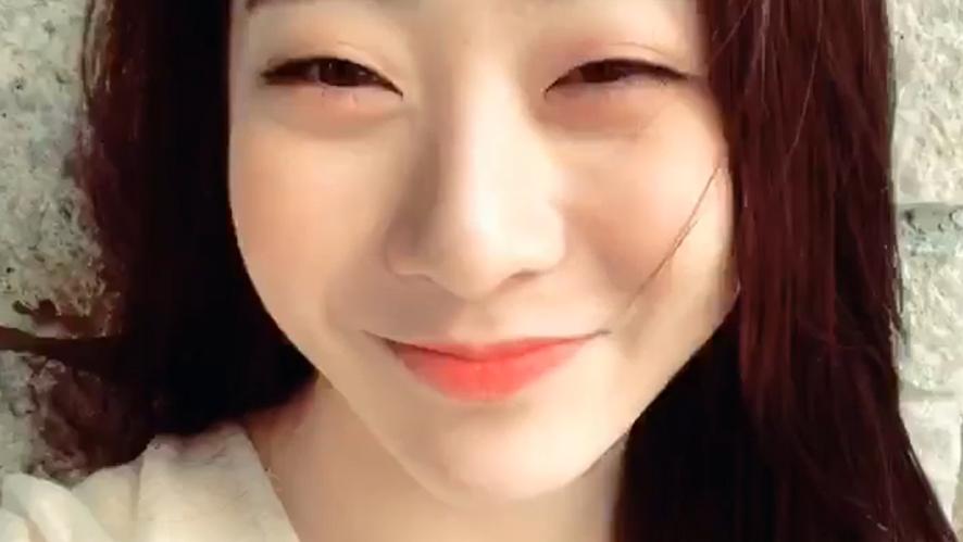 [WJSN] 봄과 어울리는 🌸청순한 봄연정🌸 (YeonJung's  V in spring!)