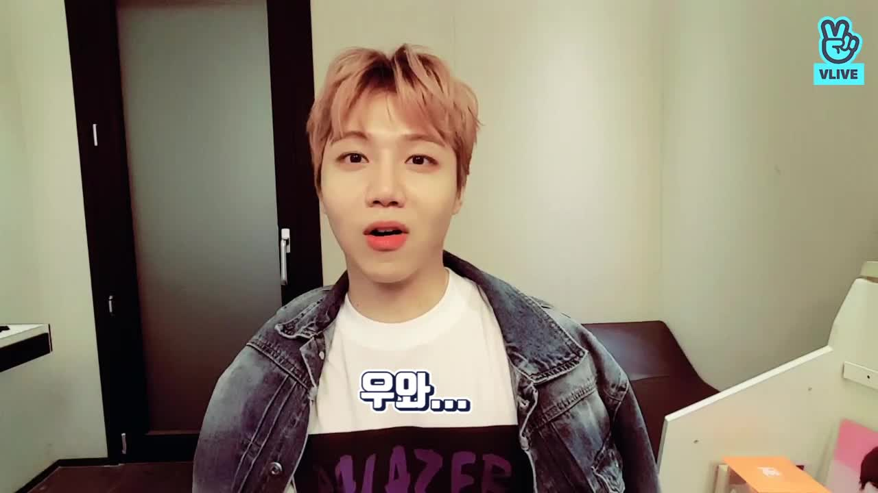 [PENTAGON] 갓진호의 예대 입시썰.vlive (Jinho talking about his entrance exam)