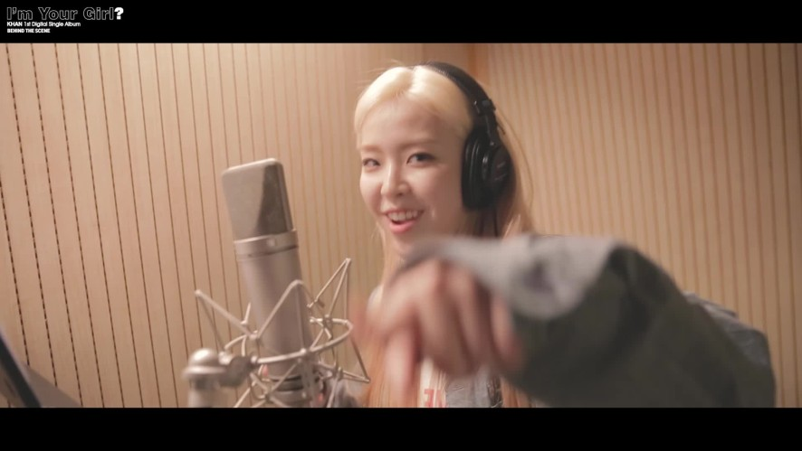 """KHAN """"I'm Your Girl ?"""" Recording Behind"""