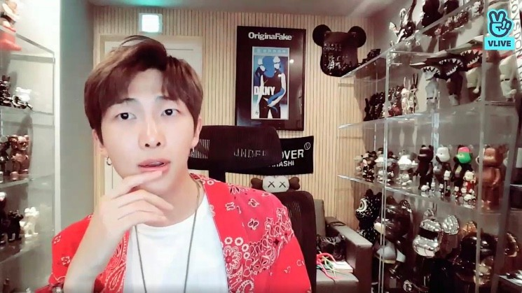 V live rm love yourself tear behind stopboris Images