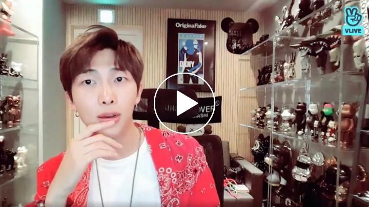 V LIVE - RM : LOVE YOURSELF 轉 'Tear' Behind