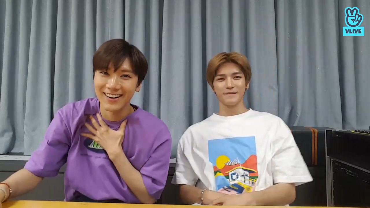 [NCT] 어쩌다보니 툥이테니 근황토크💚(Taeyong&Ten's talk about how they are getting along)