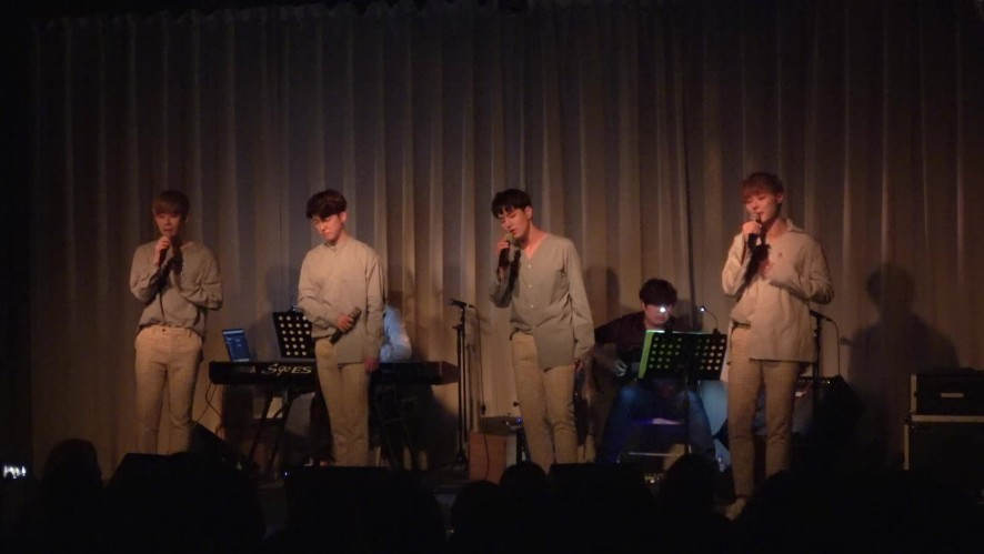 VOISPER(보이스퍼)_가까운 콘서트 '귓속말' 여름감기 무대