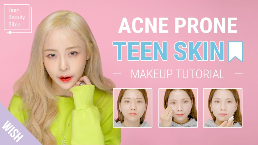 How to Do The Flawless Makeup for Acne Prone Skin | Teenage Acne Makeup Routine