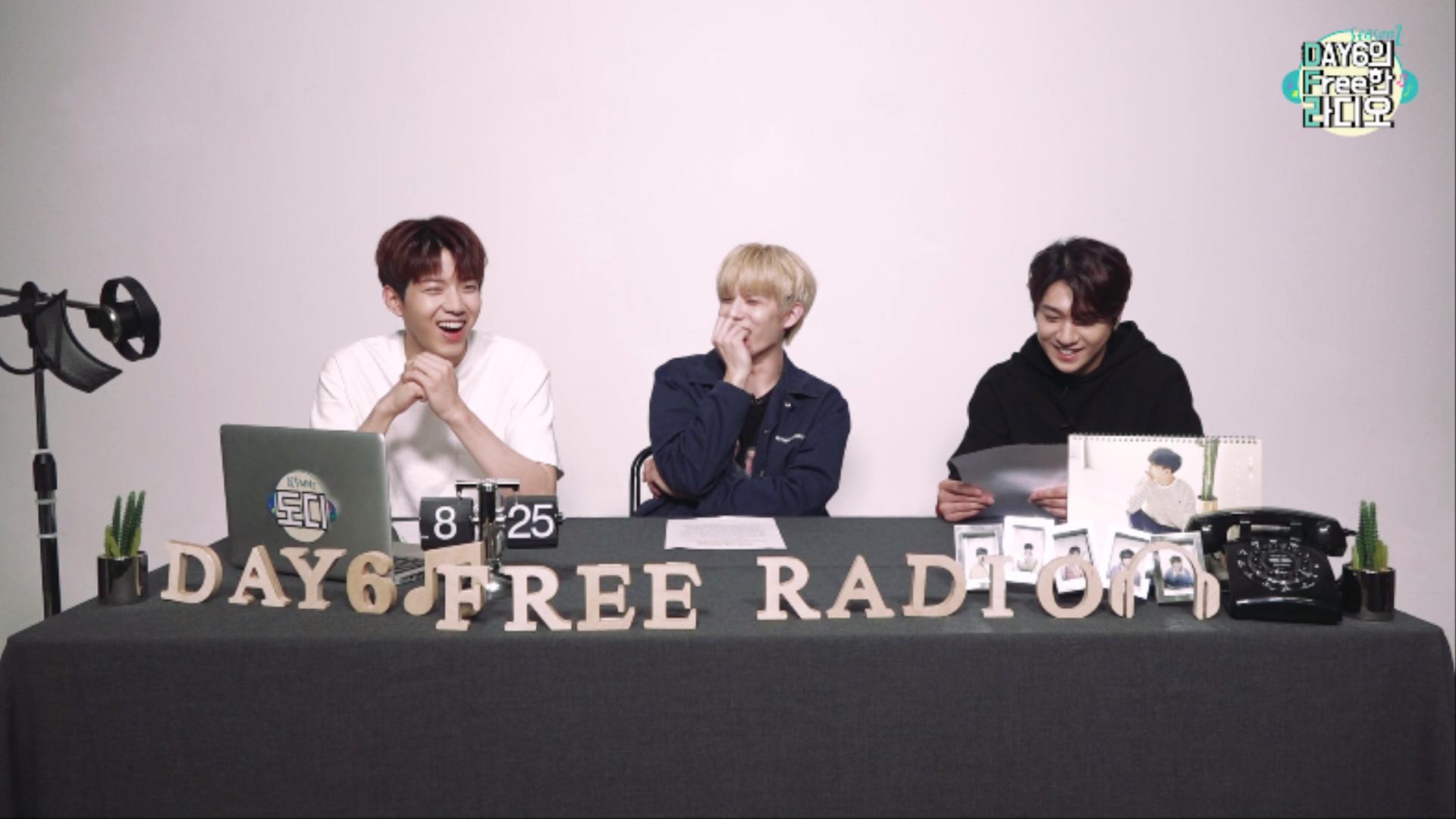 [DAY6의 Free한 라디오 시즌2] DJ 도운 with Jae, 성진