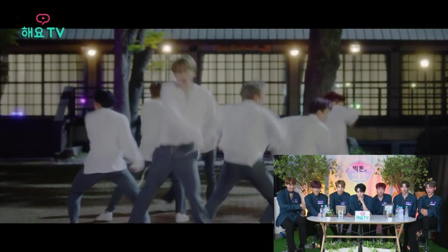 [빅톤(VICTON)] 신곡 '오월애' 뮤직비디오 코멘터리 시간! @해요TV 180607