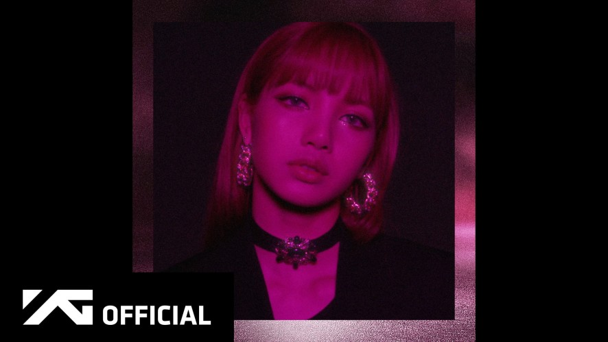 BLACKPINK - 'SQUARE UP' LISA MOVING POSTER