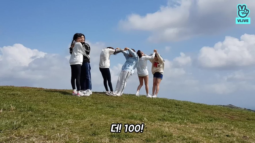 [피카부PD캠] THE100 비하인드 #3 규리 몫까지 오름 오름…!!!