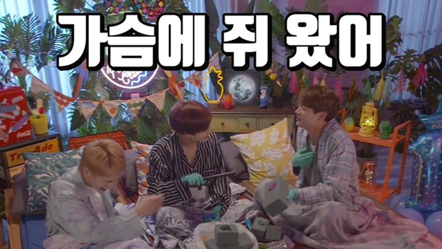 [SHINee] 아무튼 (웃다가 지쳐) 잠잘 수 있게 도와주는 수면유도방송😪 (SHINee's humorous LieV)
