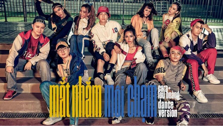LOU HOÀNG ft. CARA - MẮT NHẮM MÔI CHẠM | Dance Version (4K)