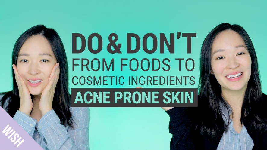 Cosmetic Ingredients & Foods for Acne Prone Skin | What Products Should We Use for Acne Skin