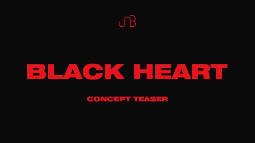 유앤비 UNB 블랙하트(BLACK HEART) Concept Teaser