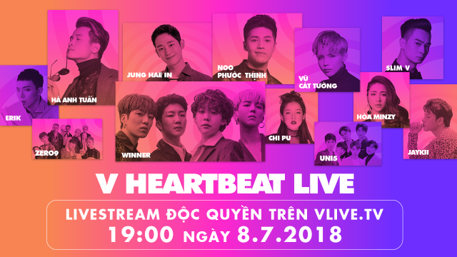 V HEARTBEAT LIVE OPENING SHOW