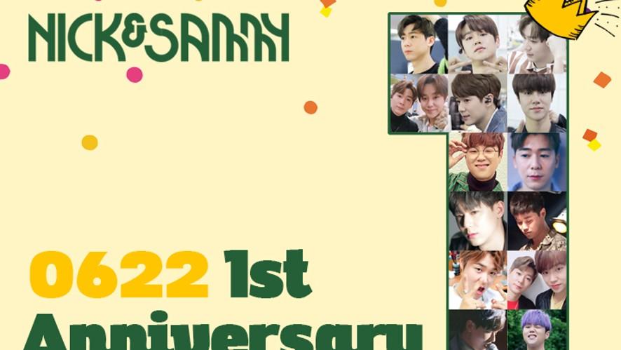 [Nick&Sammy] 1st Anniversary V LIVE
