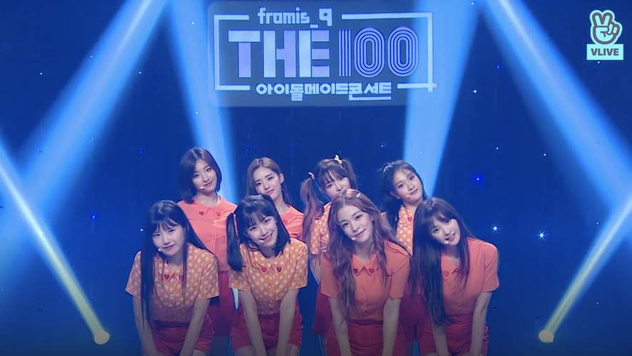 [THE100_fromis_9] Welcome to THE100 mini CONCERT! - Ep. 24+1