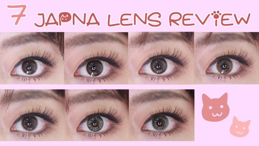 7 JAPAN LENS Review / Recoco All colors/Dope Wink/LiLmoon/ 일본렌즈 7종리뷰 리코코전색상4종,릴문렌즈,돕윙크,에버컬러