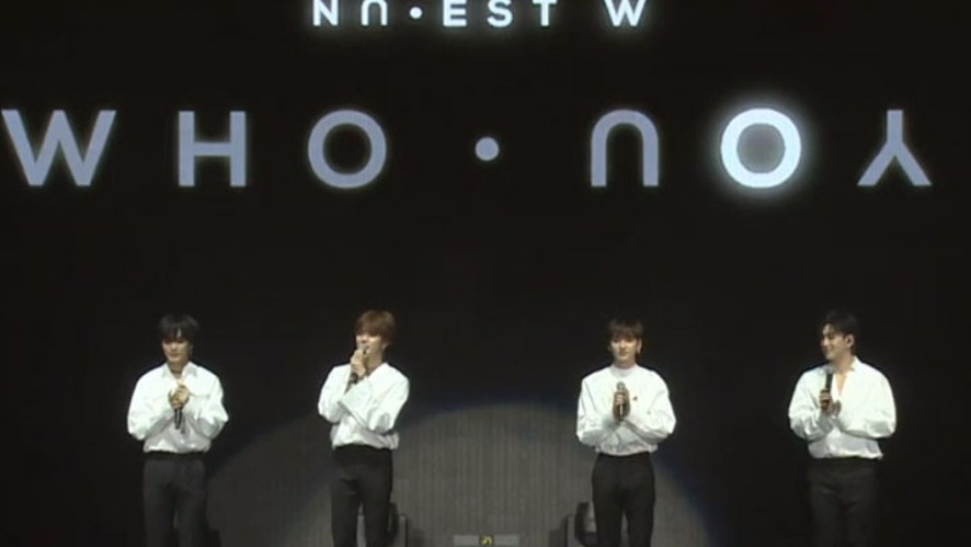 [FULL]NU'EST W NEW ALBUM 'WHO, YOU' SHOWCASE