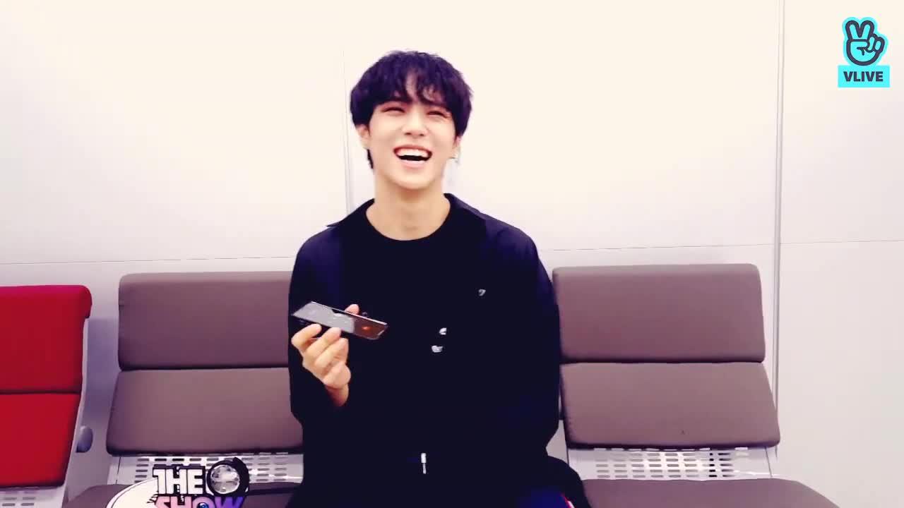 김동한의 1위 기념 V앱!!!!!♡♡