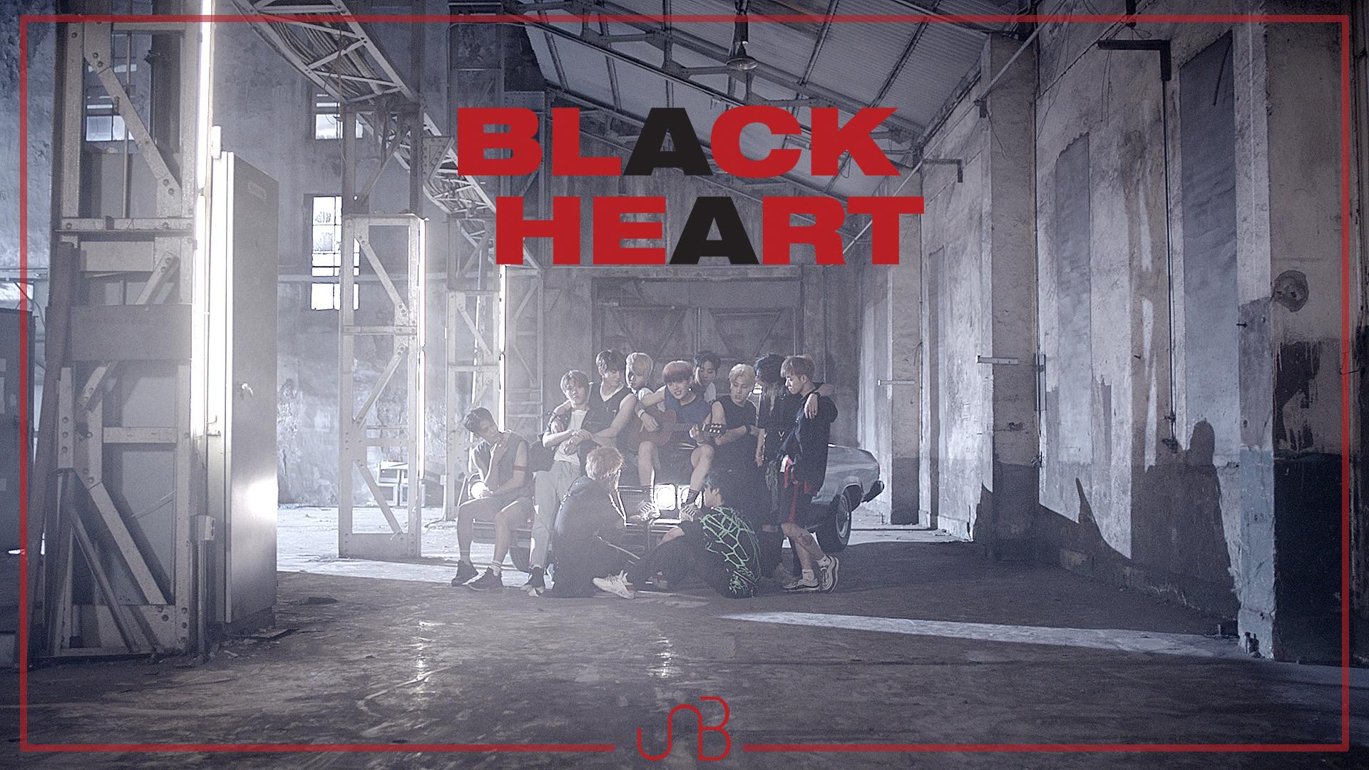 유앤비 (UNB) BLACK HEART Official Music Video