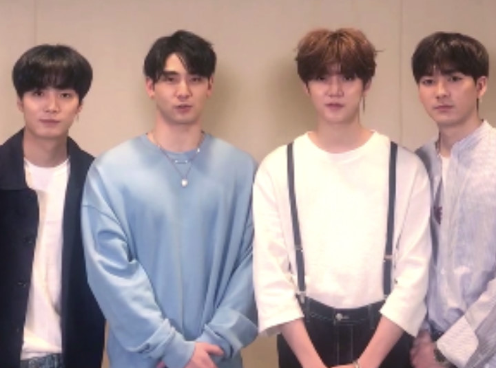 뉴이스트W NU'EST W's Congratulation for OSEN V