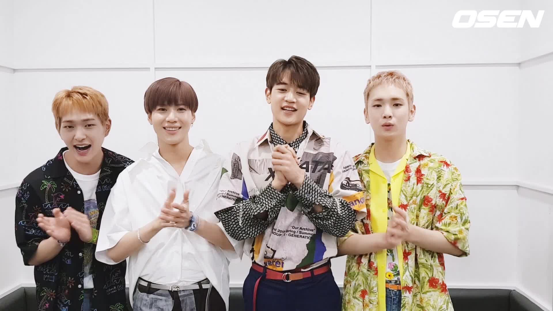 샤이니 SHINee's Congratulation for OSEN V